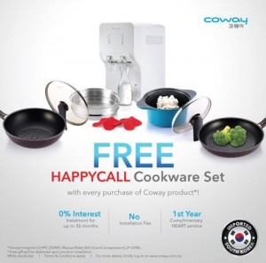 Free HappyCall CookWare Set